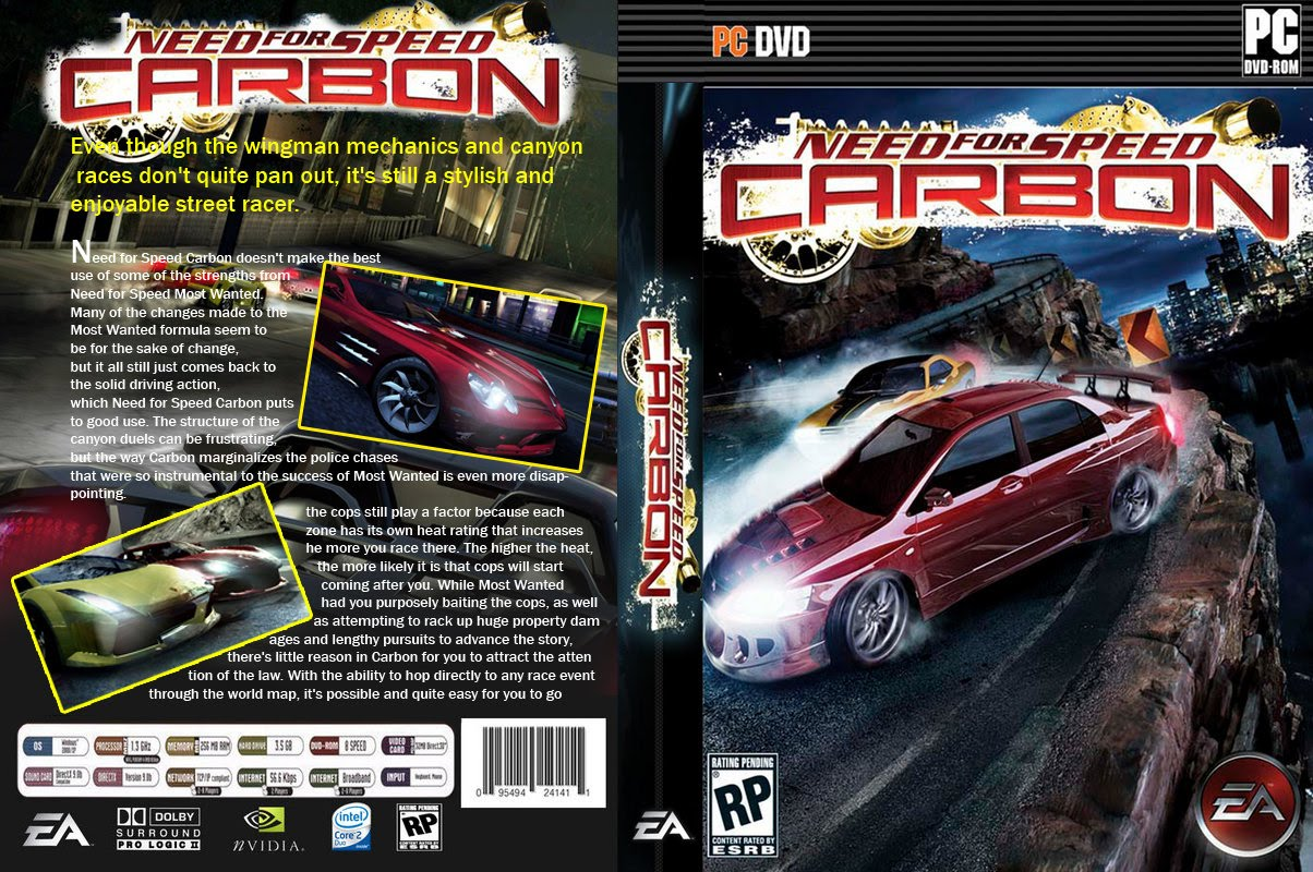 Need for Speed Carbon PC game (Highly Compress) @ Only By THE RAIN